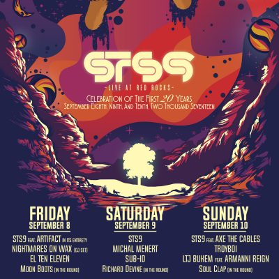 STS9 Celebration of the First 20 Years @ Red Rocks | Morrison | Colorado | United States