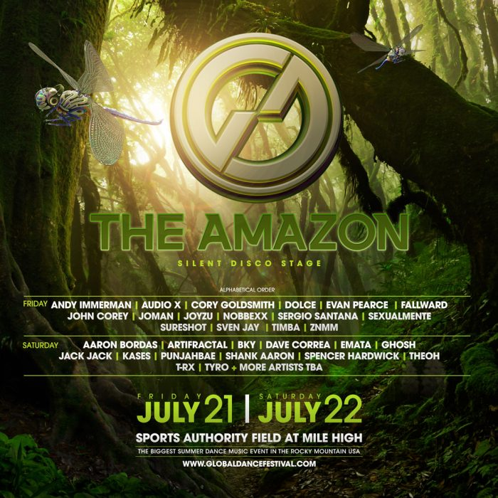 The Amazon via Global Dance Festival