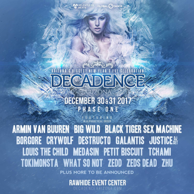 Decadence Arizona @ Rawhide Event Center | Arizona | United States