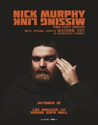 Nick Murphy, Washed Out, & Charlotte Cardin at Shrine Expo Hall in Los Angeles @ Shrine Expo Hall | Los Angeles | California | United States