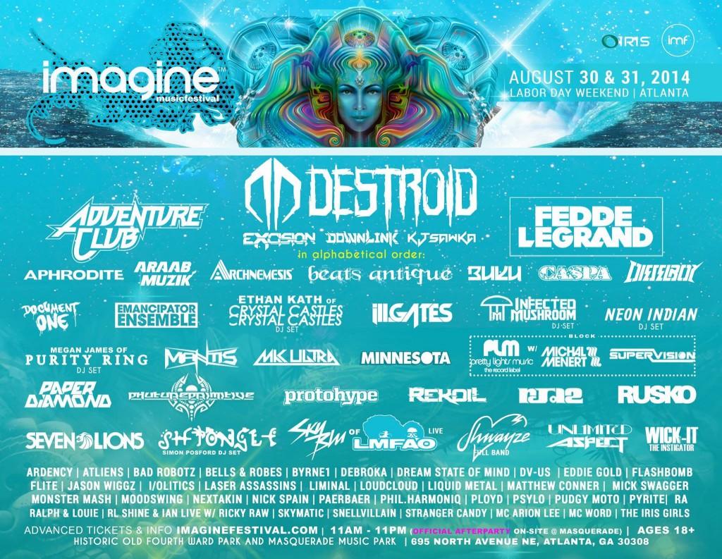 8 Must See Performances Imagine Music Festival 2014