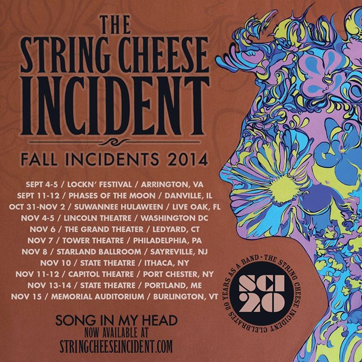 string cheese incident tour