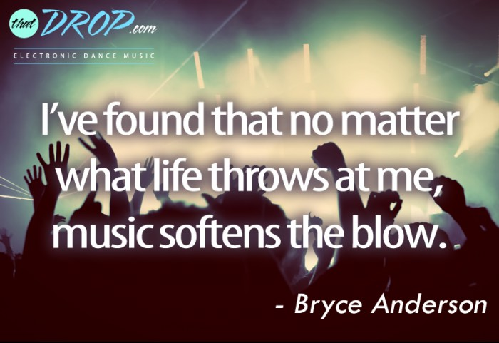Quotes Music Amusing 10 Inspirational Music Quotes Remind Us Why We Love Edm