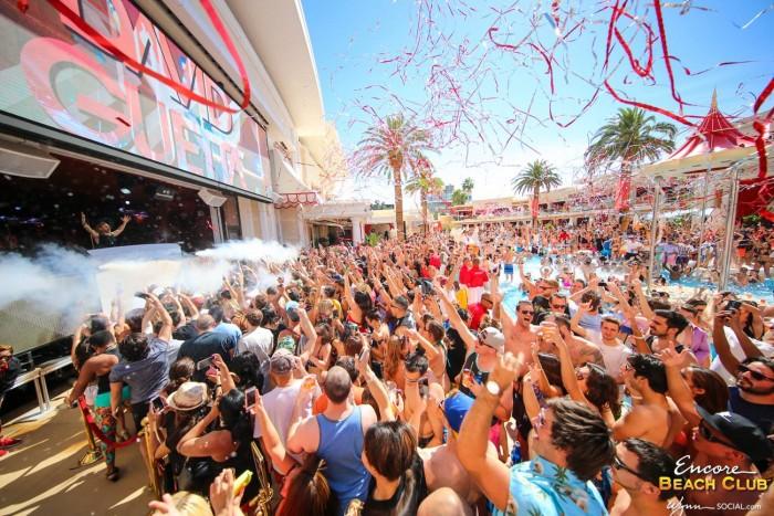 David Guetta Performs At Encore Beach Club