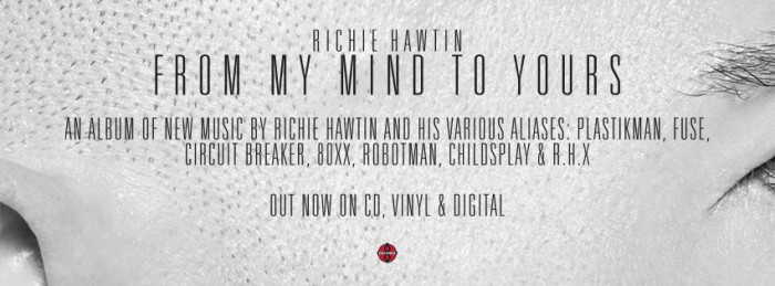 Richie Hawtin objavio novi album 'From My Mind to Yours' 1