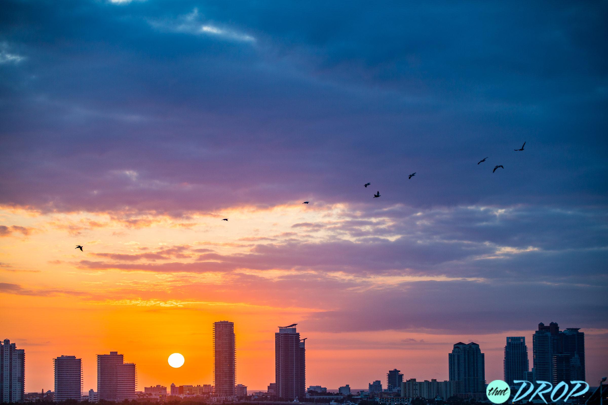 Nothing Beats A Miami Sunrise at Sea
