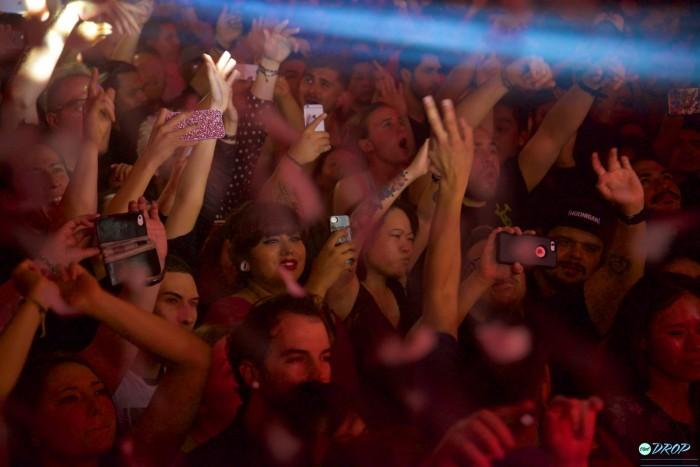 Nervo crowd at Avalon Hollywood