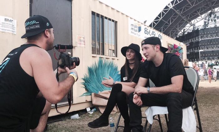 Bonnie X Clyde Interview at Sunset Music Festival 2016 in Tampa, Florida