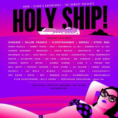 HOLY SHIP! 2016 - January