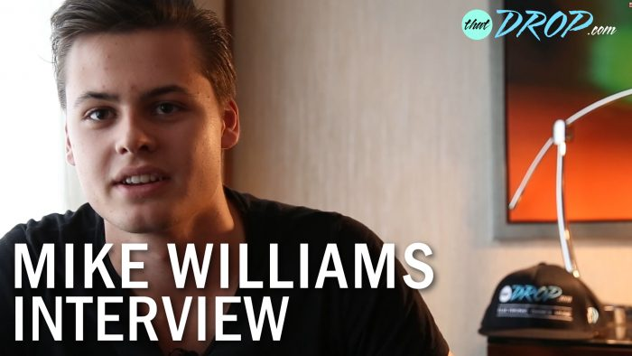 Mike Williams Exclusive thatDROP Interview
