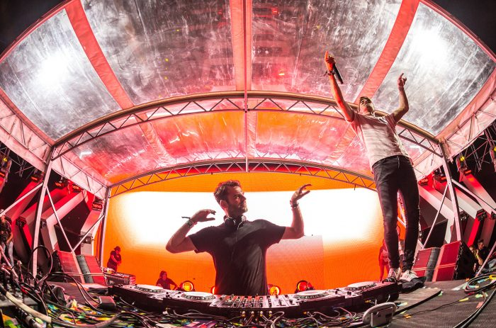 The Chainsmokers at Electric Zoo 2016 // Photo via aLIVE Coverage for Billboard