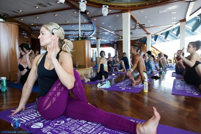 Deep House Yoga Photo from Groove Cruise
