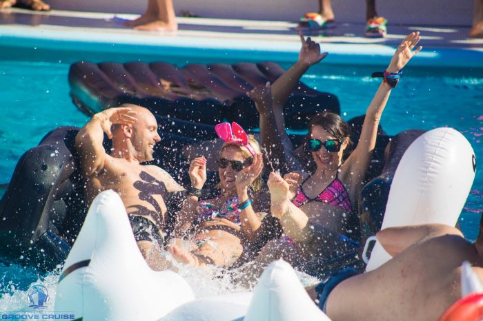 Groove Cruise Cabo Pool raging