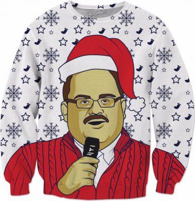 Purchase Bad to the Bone Christmas Crewneck Sweatshirt