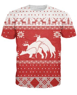 Purchase a Merry Bucking Christmas T-Shirt