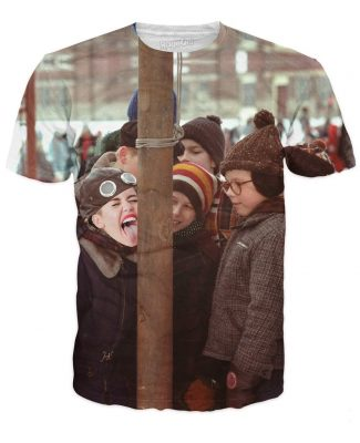 Purchase A Miley Christmas Story T-Shirt