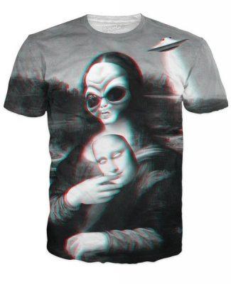 Purchase an Alien Lisa T-Shirt