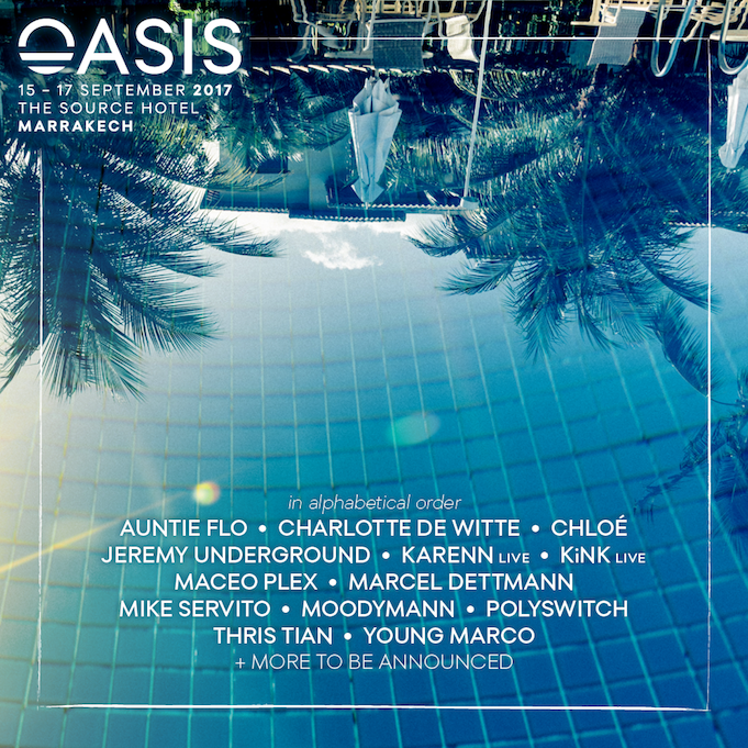 Oasis Festival Lineup
